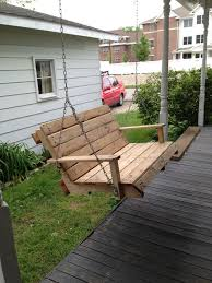 porch swings made from pallets trend pixelmari com
