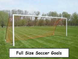 full size soccer goals best ones 2016 backyard soccer goals in
