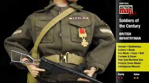 palitoy action man soldiers of the century in detail youtube
