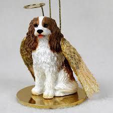 cavalier king charles figurine ornament statue