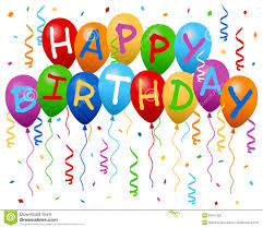 birthday balloons happy birthday balloons banner stock photos image 24917593