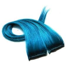 teal hair extensions fishbowl turquoise clip in hair extensions blue aqua teal st