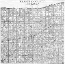 Nebraska County Map Atlas Of Kearney County Nebraska 1937