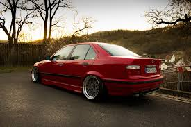 bmw e36 stanced photo collection top hellrot e36 stance