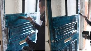 how we paint a front door no 2trim decorating