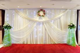 wedding backdrop design 2016 new design mandap 3 6 wedding curtain drapery for sale white