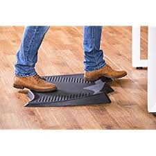 anti fatigue mat for standing desk amazon com ergohead standing desk mat not flat anti fatigue mat