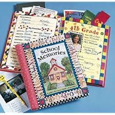 school photo album deluxe school memories keepsake photo album scrapbook