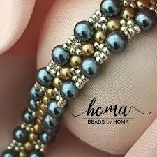 Costume Jewelry Unique Beaded Design 13 Best Beads By Homa Images On Pinterest Bead Jewellery Beaded