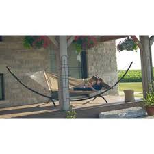 vivere 15ft arc hammock stand steel outdoor living patio