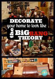 decorate like the big theory