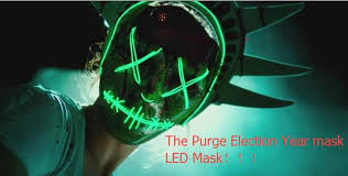 online buy wholesale halloween led light from china halloween led the purge election year mask led masks el wire masks political