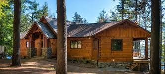 one story log cabins confederation log and timber frame