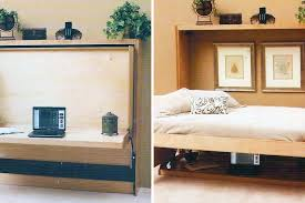 Folding Desk Bed Popular Of Folding Bed Desk 10 Murphy Beds That Maximize Small