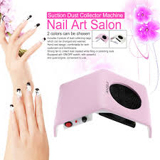 anself 30w nail art suction dust collector machine nail dust