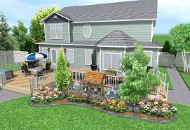 Deck Landscaping Ideas Stunning Landscaping Around Deck Design Idea And Decorations