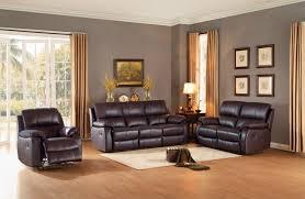 sofa match homelegance jedidiah reclining sofa set top grain leather match