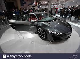 honda supercar concept honda nsx concept door open stock photo royalty free image