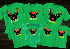 disney reindeer family vacation t shirts the official
