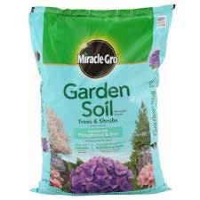miracle gro 1 5 cu ft garden soil for trees and shrubs 73359430