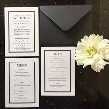 and white wedding invitations black and white wedding invitations and stationery wagtail designs
