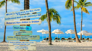 Key West Florida Map Beachfront Hotel On Duval Street In Florida Southernmost Beach