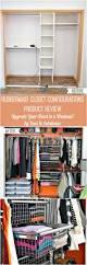 Rubbermaid Closet Drawers Rubbermaid Configurations Closet Organizer Review Dans Le Lakehouse