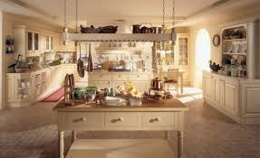 large rustic country style kitchen decoration with old white