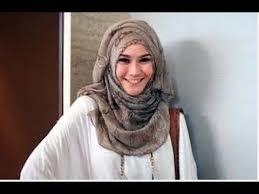 tutorial hijab paris zaskia tutorial hijab simple trendy segi empat ala zaskia adya meca