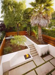 terrace garden design pictures outdoor firepit combine recessed