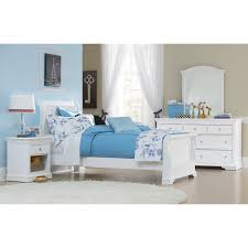 Bedroom White Furniture Have To Have It Walnut Street Riley Sleigh Bed White 514