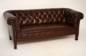original chesterfield sofas leather sectional sofa