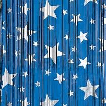 Silver And Blue Curtains Blue U0026 Silver Stars Foil Curtains Shindigz