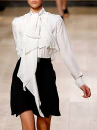 White Blouse With Black Bow Best 25 White Blouse With Bow Ideas On Pinterest Business