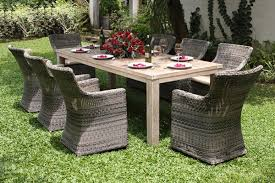 Seville Recycled Teak Dining Set  Chairs - Reclaimed teak dining table and chairs
