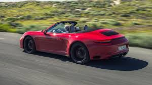 porsche convertible porsche 911 carrera gts cabriolet 2017 review by car magazine