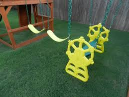 Swing Set For Backyard by Get Great Value With Backyard Discovery Atlantis Cedar Swing Set