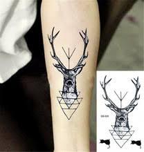deer head tattoos online shopping the world largest deer head