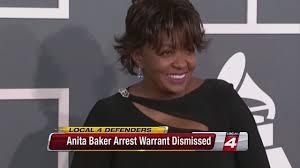 judge lifts arrest warrant for anita baker