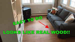 How To Do Laminate Floor How To Install Floating Vinyl Floor Youtube