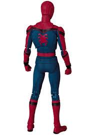 bigbadtoystore spider man homecoming mafex 047 spider man