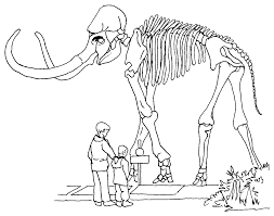 mammoth kids stuff coloring