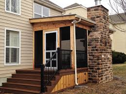 rustic screen porches u2013 columbus decks porches and patios by