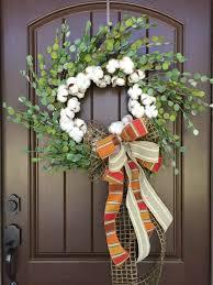 2017 eucalyptus u0026 cotton wreath tutorial trendy tree blog