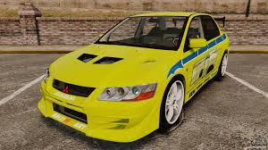 mitsubishi car 2002 mitsubishi lancer evolution vii 2002 for gta 4