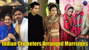 arranged wedding 6 indian cricketers who opted arranged marriages
