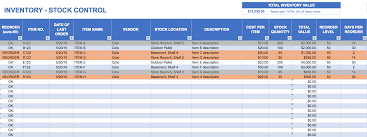 Tutorial For Excel Spreadsheets How To Make An Inventory Spreadsheet Laobingkaisuo Com
