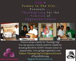 ggb presents the 4th annual gift of thanksgiving feast for the