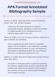 examples of bibliography for project