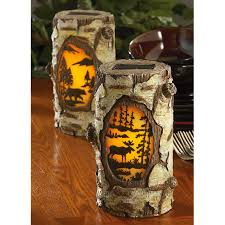 Solar Landscaping Lights Outdoor by 2 Pk Of Solar Lodge Landscape Lights 215989 Solar U0026 Outdoor